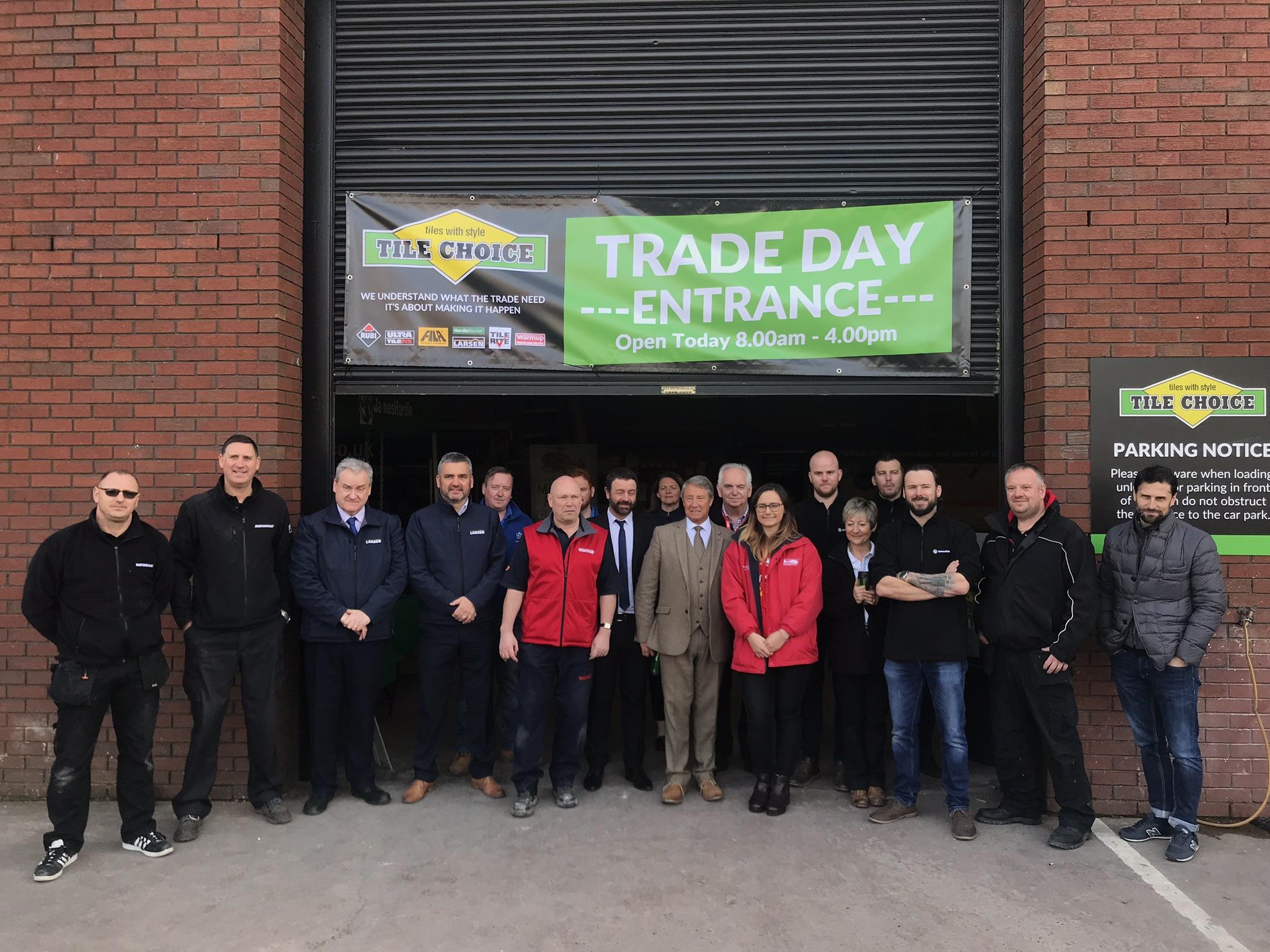Tile Choice Trade Day