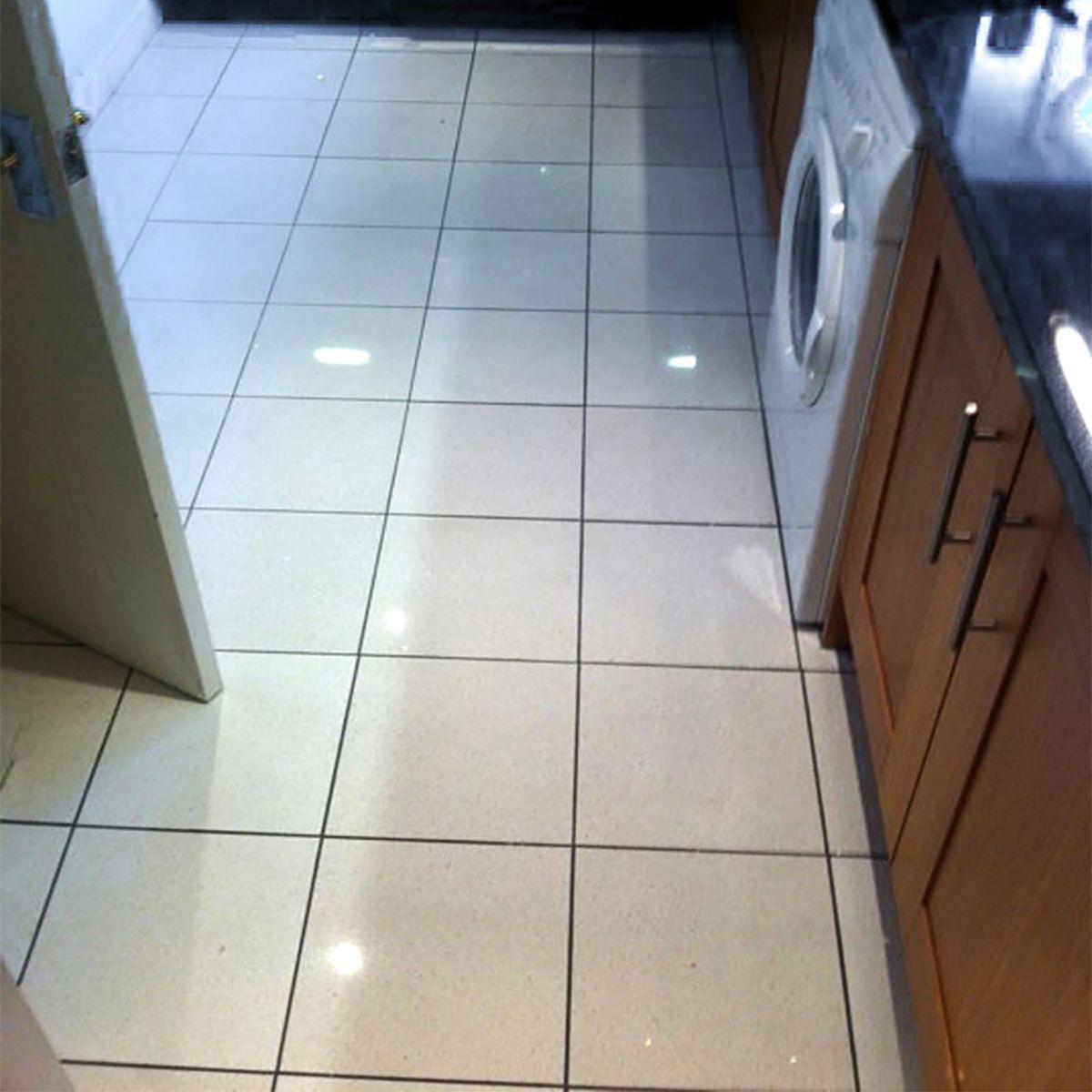 Quartz Star Stone White Floor Tile